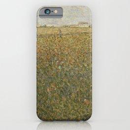 Georges Seurat - La Lucerne iPhone Case