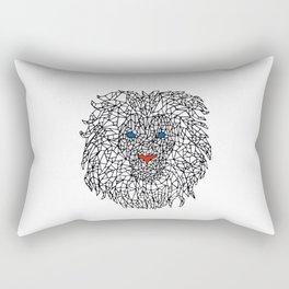 Lion Design Rectangular Pillow
