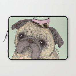 Happy B-day Pug Laptop Sleeve