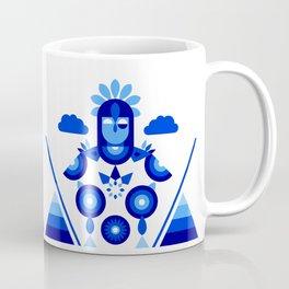 Libra in Blue Coffee Mug