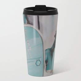 Mint Vespa  Travel Mug