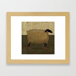 Hightops Sheep Framed Art Print