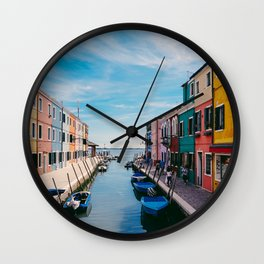 Color House Wall Clock