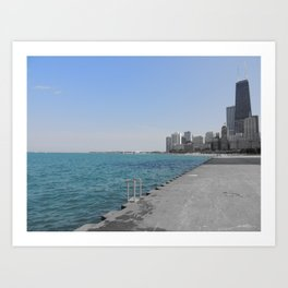 Chicago Summer Art Print