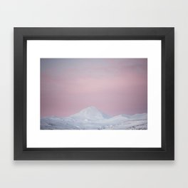 Candy mountain - Landscape and Nature Photography Framed Art Print