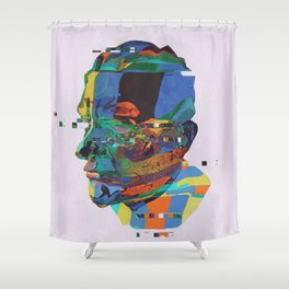 PORTRAIT_0001.BMP Shower Curtain