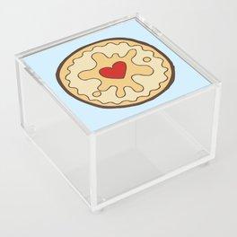 Jammy Dodger British Biscuit Acrylic Box