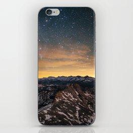 Matthes Crest Night iPhone Skin