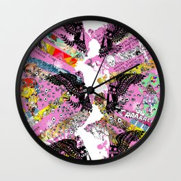 MEGA - three Wall Clock