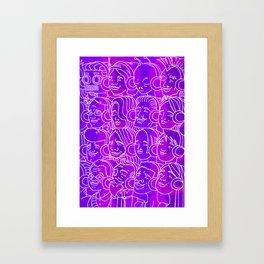 For Your Ears Framed Art Print