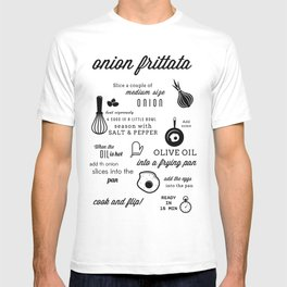 Onion frittata T-shirt