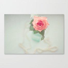 Fleur De L'amour Canvas Print