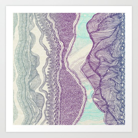 Mountain Climb Art Print