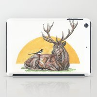 stag iPad Cases featuring Stag by Meredith Mackworth-Praed