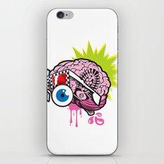 BRAIN-D! iPhone & iPod Skin