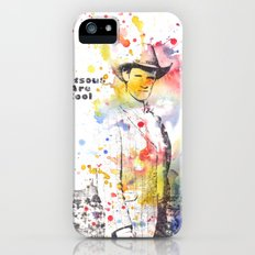 Stetsons are Cool From Doctor Who iPhone (5, 5s) Slim Case
