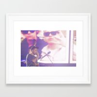 liam payne Framed Art Prints featuring Liam Payne by Halle