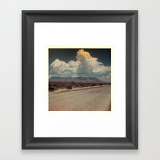 Out on the Road Framed Art Print