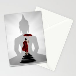 Buddhist Path Stationery Cards