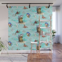 Shark's Treasure Wall Mural