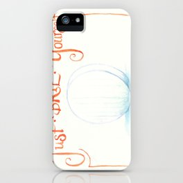 Just Brie Yourself iPhone Case