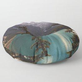 Reflections / Landscape Nature Photography Floor Pillow