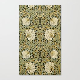 William Morris Pimpernel Art Nouveau Floral Pattern Canvas Print