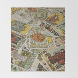 Tarot Cards Throw Blanket