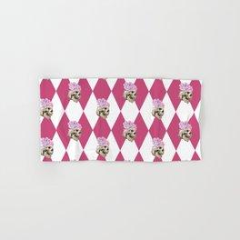 Memento Mori Pattern Hand & Bath Towel