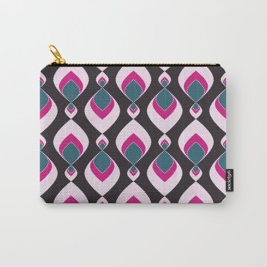 Multi-colored pattern . Carry-All Pouch
