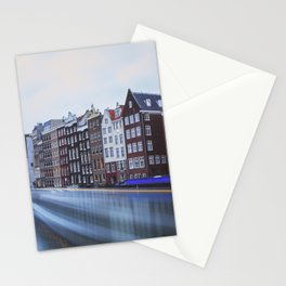 Amsterdam Tranquil Canal Scene, Netherlands Stationery Cards