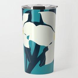Paloma botanical teal Travel Mug