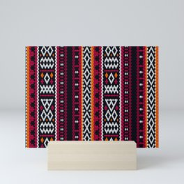 SADU Weave Fabric Mini Art Print