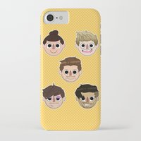 animal crossing iPhone & iPod Cases featuring Animal Crossing One Direction by Pinkeyyou