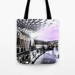Kings Cross Station Art Tote Bag