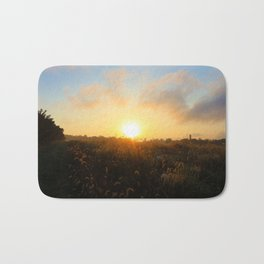 Early Morning in the Peach Trees Bath Mat