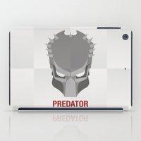 predator iPad Cases featuring PREDATOR by Alejandro de Antonio Fernández