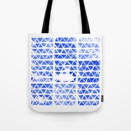 triangle stamp Tote Bag