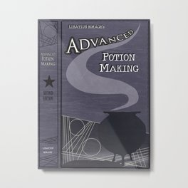 Advanced Potion Making Metal Print