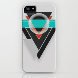 Tacit - Geometric Shape Design iPhone Case