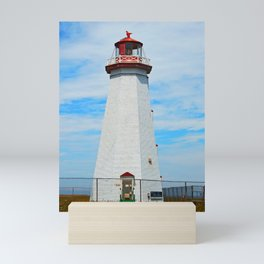 North Cape Lighthouse Mini Art Print