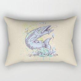 Pike Dream Rectangular Pillow