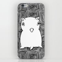dumbo iPhone & iPod Skins featuring Dumbo Octopus by Indigo K