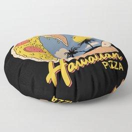 Hawaiian Pizza Floor Pillow