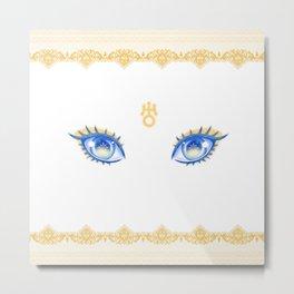 Sailor Uranus Eyes Metal Print