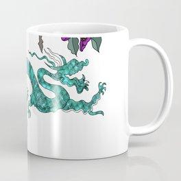 Green oriental Dragon Coffee Mug
