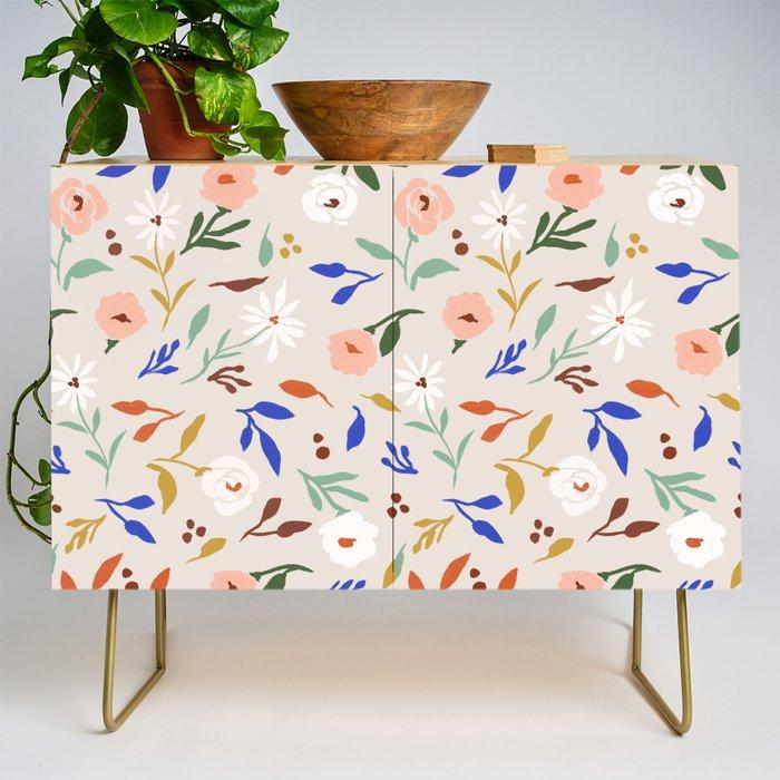 Tulum Floral Credenza