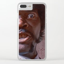 Pulp Fiction Jules Winnfield - Furious Anger Clear iPhone Case
