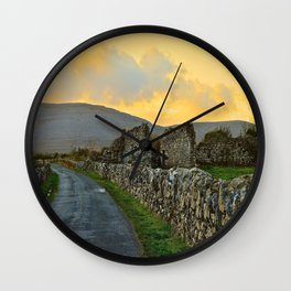 The Road Back to Dublin Wall Clock