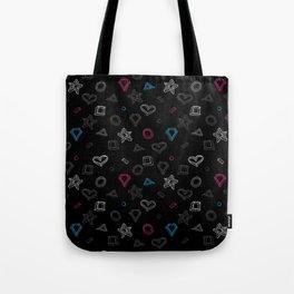 Hipster figures  Tote Bag